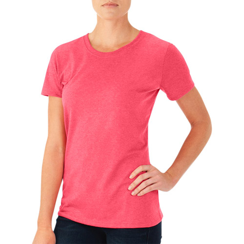 Fruit of the Loom Women's Short Sleeve Crew T-Shirt