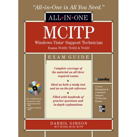 MCITP Windows Vista Support Technician All-in-One Exam Guide (Exam 70-620, 70-622, & 70-623) - eBook