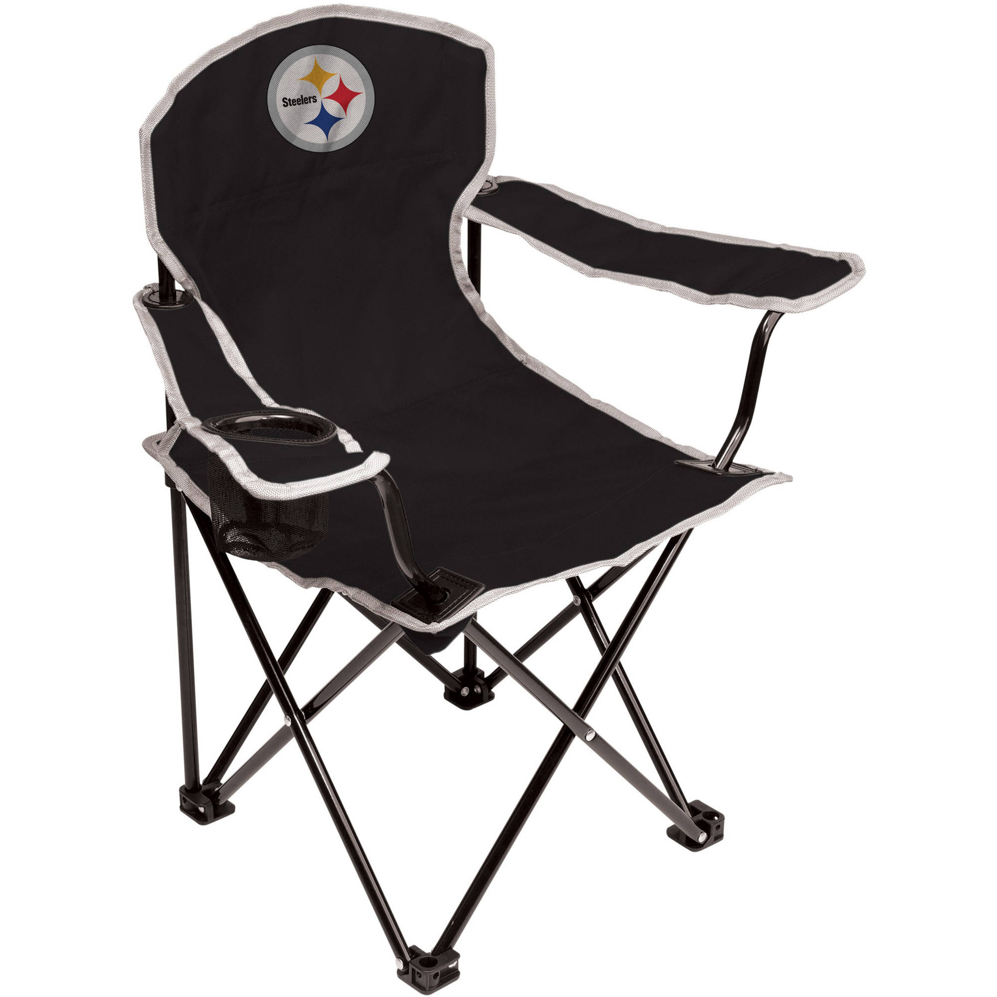 Tremendous Nfl Pittsburgh Steelers Youth Size Tailgate Chair From Coleman By Rawlings Uwap Interior Chair Design Uwaporg