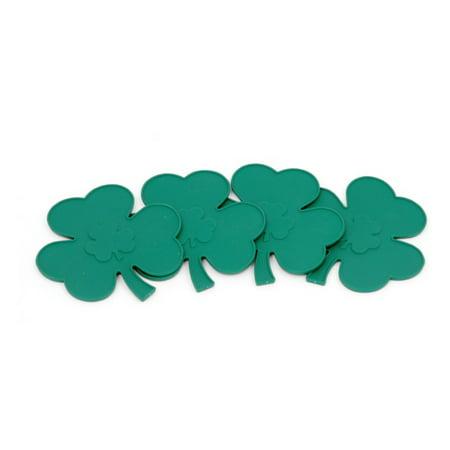 Green Tile Coaster (Chef Craft St. Patrick's Shamrock Coaster 4