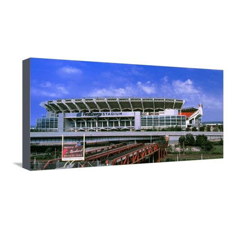 Football Stadium in a City, Firstenergy Stadium, Cleveland, Ohio, USA Stretched Canvas Print Wall Art](Party City In Ohio)