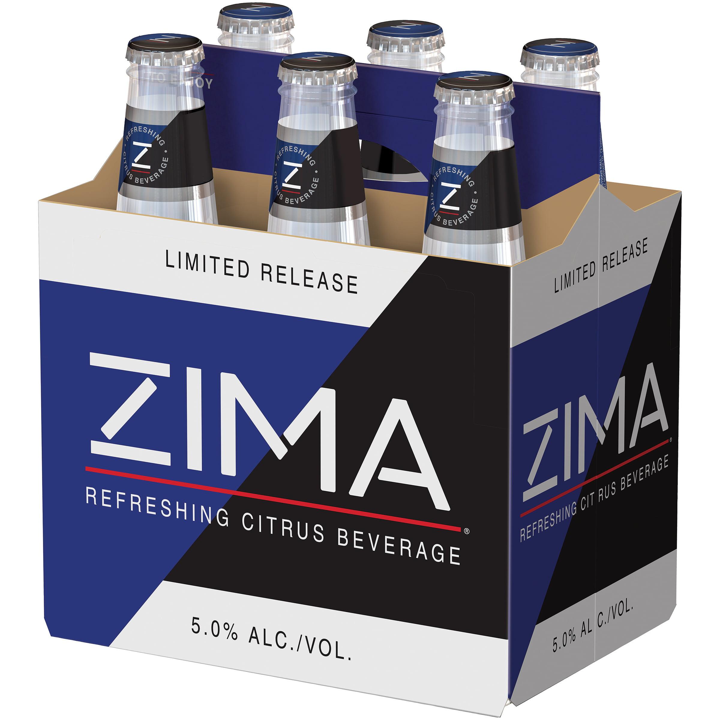 Zima® Refreshing Citrus Beverage Cooler 6 Pack