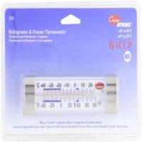 Cooper-Atkins 335-01-1 Refrigerator/Freezer Horizontal Glass Tube Thermometer