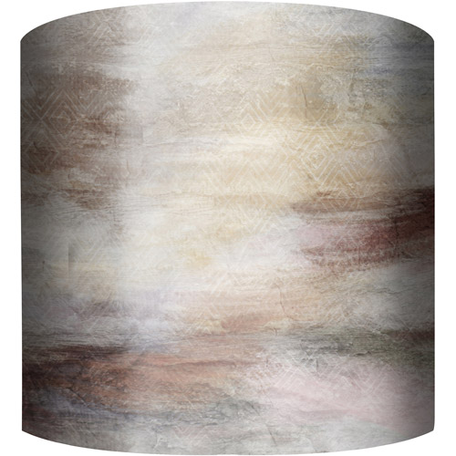 "10"" Drum Lampshade, Northern Lights by"