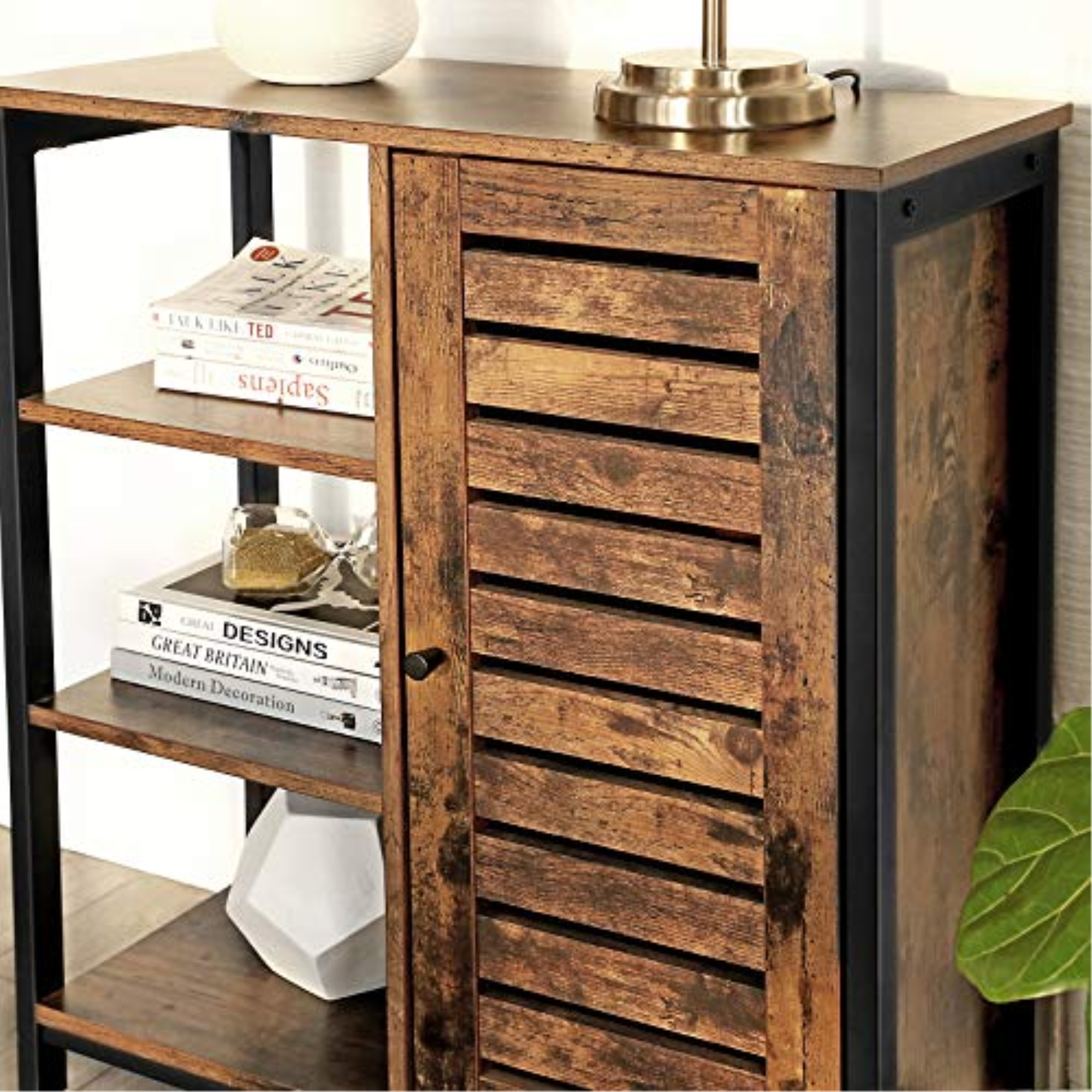 VASAGLE LOWELL ULSC74BX Storage Cabinet, Multipurpose ...