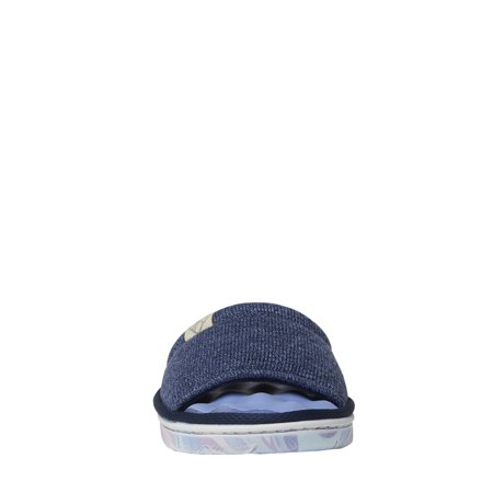 DF by Dearfoams Womens Knit Slide Slipper