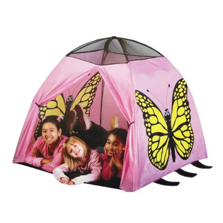 Butterfly Tent And Tunnel  Indoor Outdoor Collapsible Play Tent