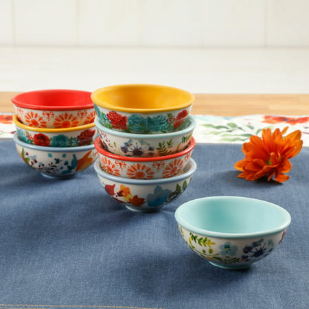 The Pioneer Woman Flea Market 3.12-Inch Dip Bowls, Set of -