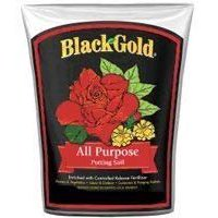 Black Gold 1410102 8 QT P 8 Quart All Purpose Potting Soil With Fertilizer