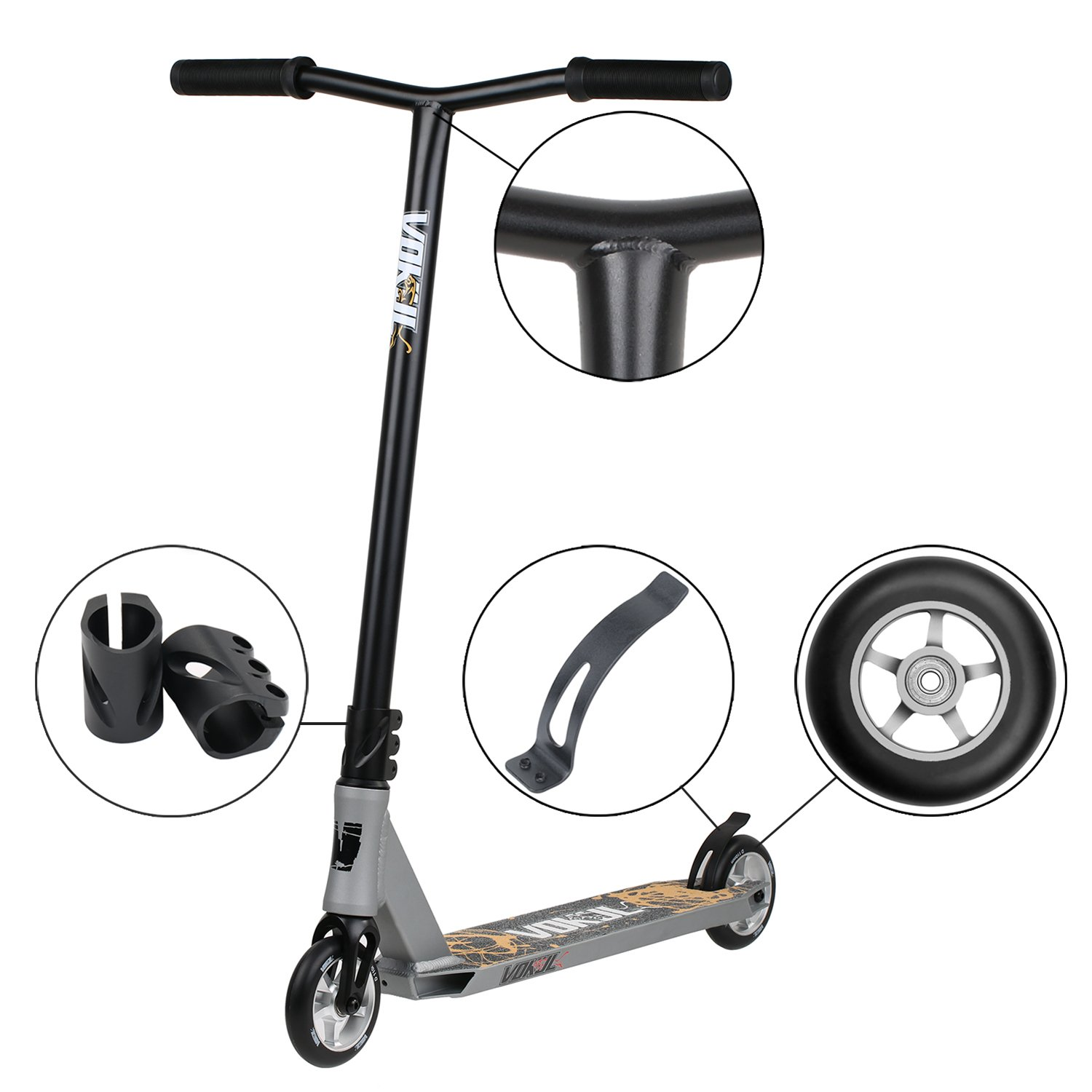 Vokul VK4 Stunt Pro Scooter for Intermediate and Advanced Rider