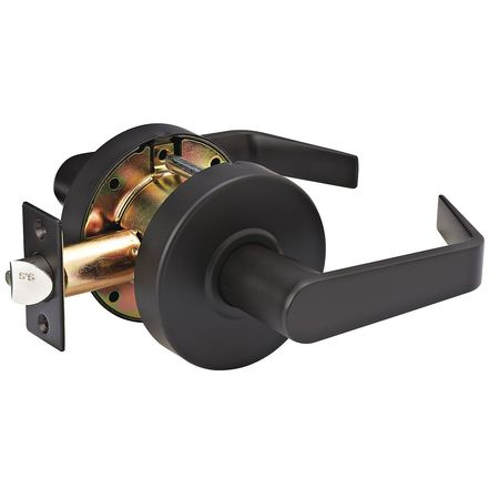 Lever Lockset,Mechanical,SLC Angled MASTER LOCK SLCHPG10B
