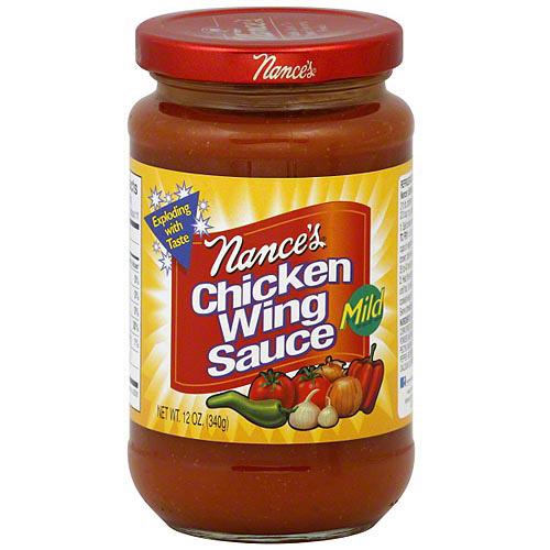 Nance's Mild Chicken Wing Sauce, 12 oz (Pack of 12)