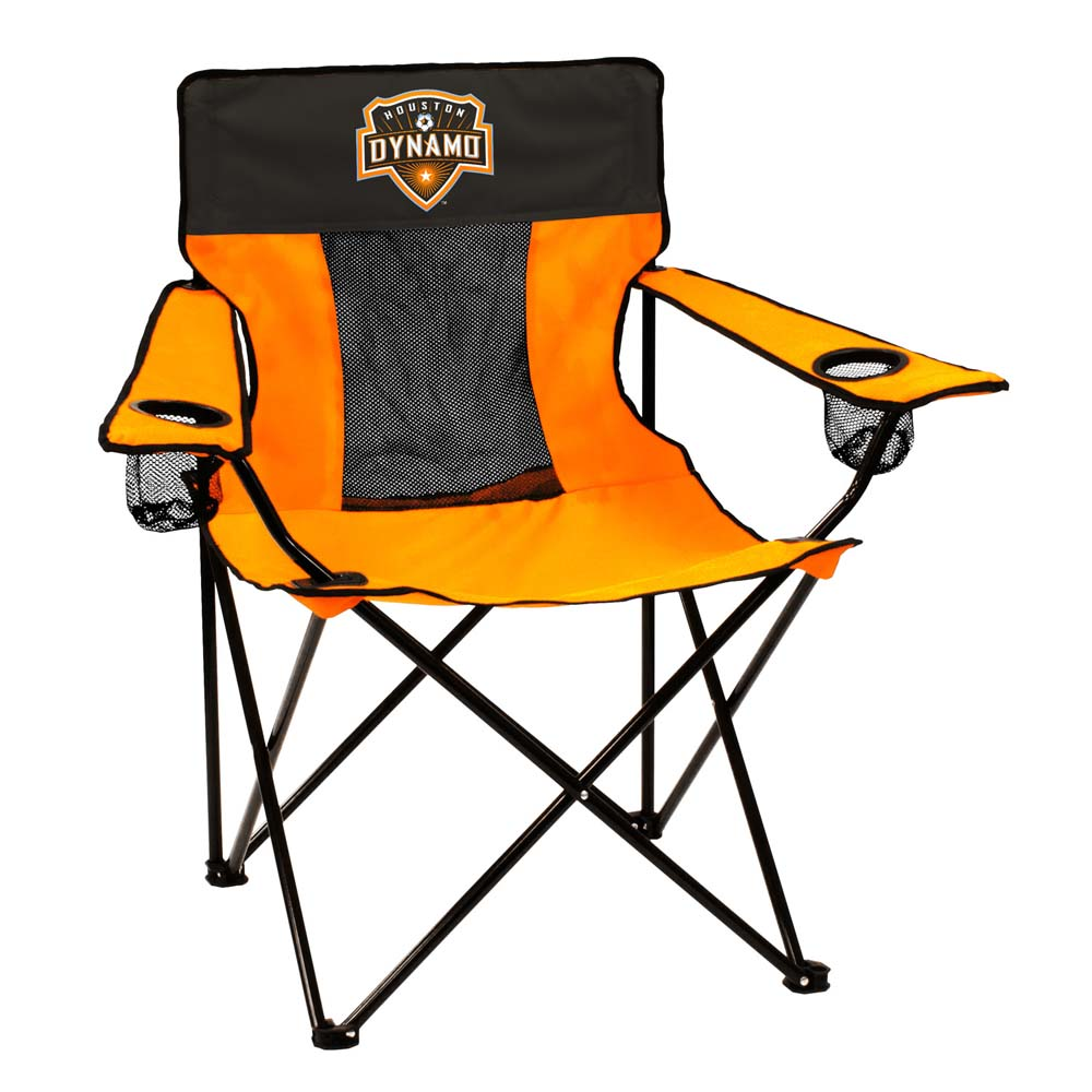 Houston Dynamo Elite Folding Logo Chair