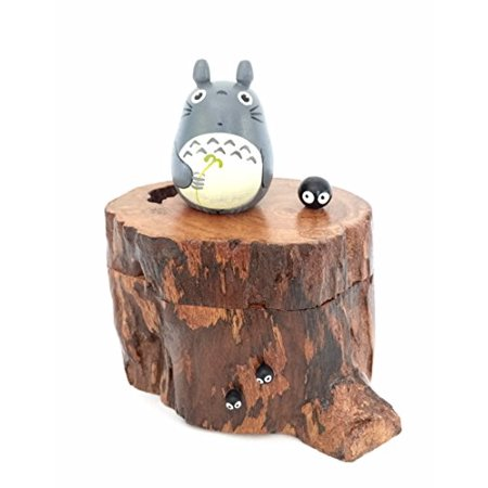 TOTORO Unique Teak Wood Box - Teak Tinder Box