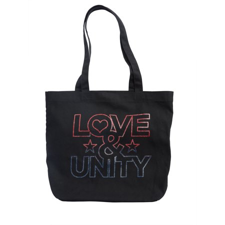 "EV1 ""Love & Unity"" Canvas Market Tote"