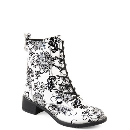 Womens Lace-up Combat Boot