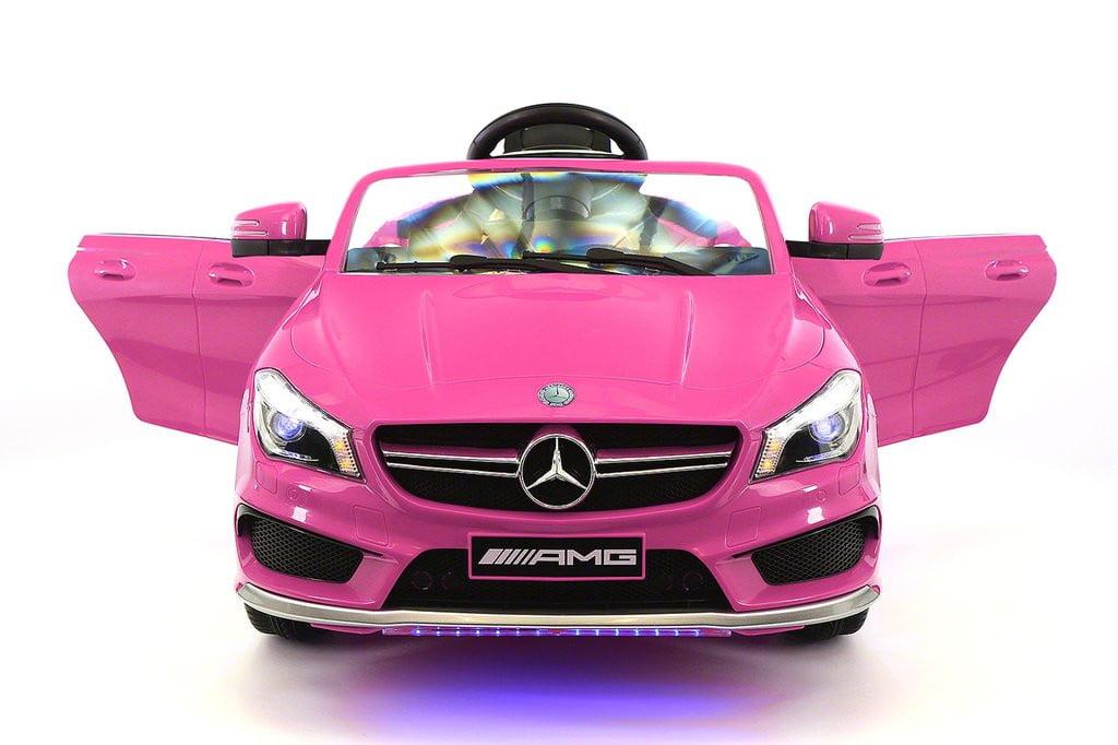 Mercedes CLA45 12V Kids Ride-On Car MP3 USB Player Battery Powered Wheels R C Parental... by Moderno Kids