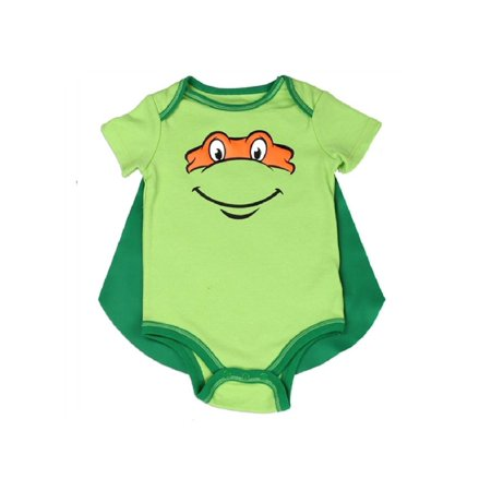Teenage Mutant Ninja Turtles Caped - 6-9M - Teenage Onesie