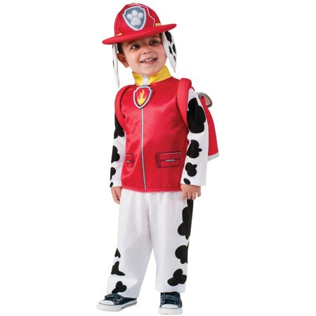 Paw Patrol Marshall Child Halloween Costume - Zebra Print Halloween Costumes