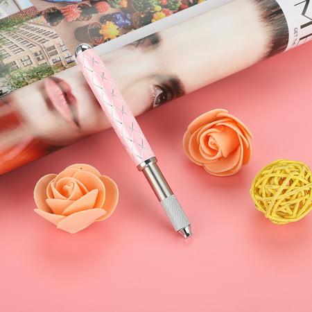 Portable Manual Semi Permanent Eyebrow EyeLine Tattoo Makeup Microblading Pen, Microblading Pen, Tattoo Blade