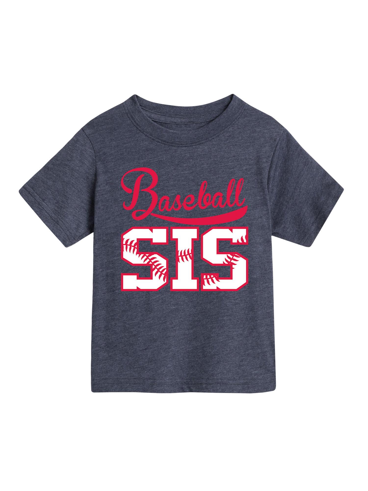 Baseball Sis  - Toddler Short Sleeve Tee