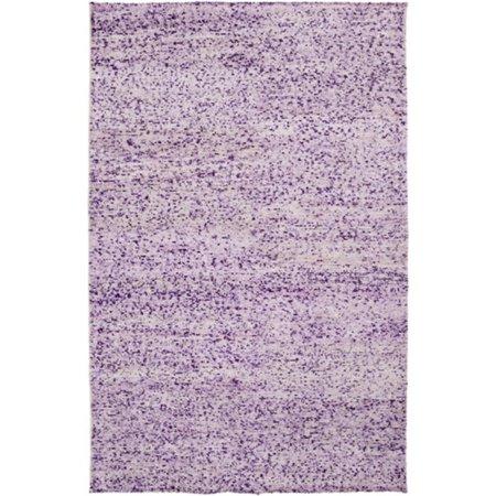 2 39 x 3 39 bazaar mix plum purple lavender and cream hand for Plum and cream rug