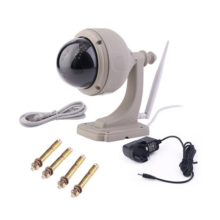 Outdoor High Definition Motion Dectection Ip Camera Hd 720P With 3 Optical Zoom And Ir Cut Security Camera