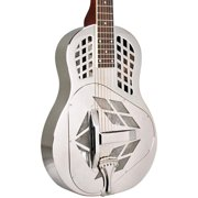 Recording King RM-991-S Tricone Resonator, Nickel-Plated Bell Brass