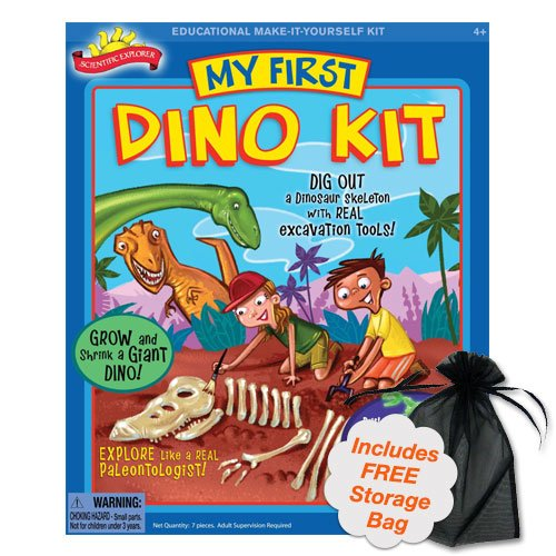 POOF-SLINKY INC. Brybelly TPOO-32 My First Dino Kit, Unea...