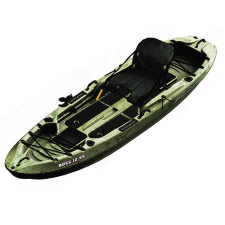 Sun Dolphin Boss 12' Angler Kayak, Grass