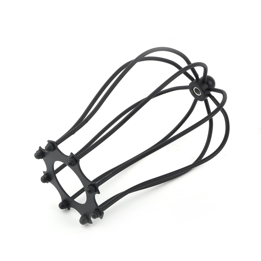 Industrial Vintage Antique Lamp Covers Pendant Chandelier Metal Wire Cage Ceiling Hanging Guard Cafe Bars Lamp Shades, black