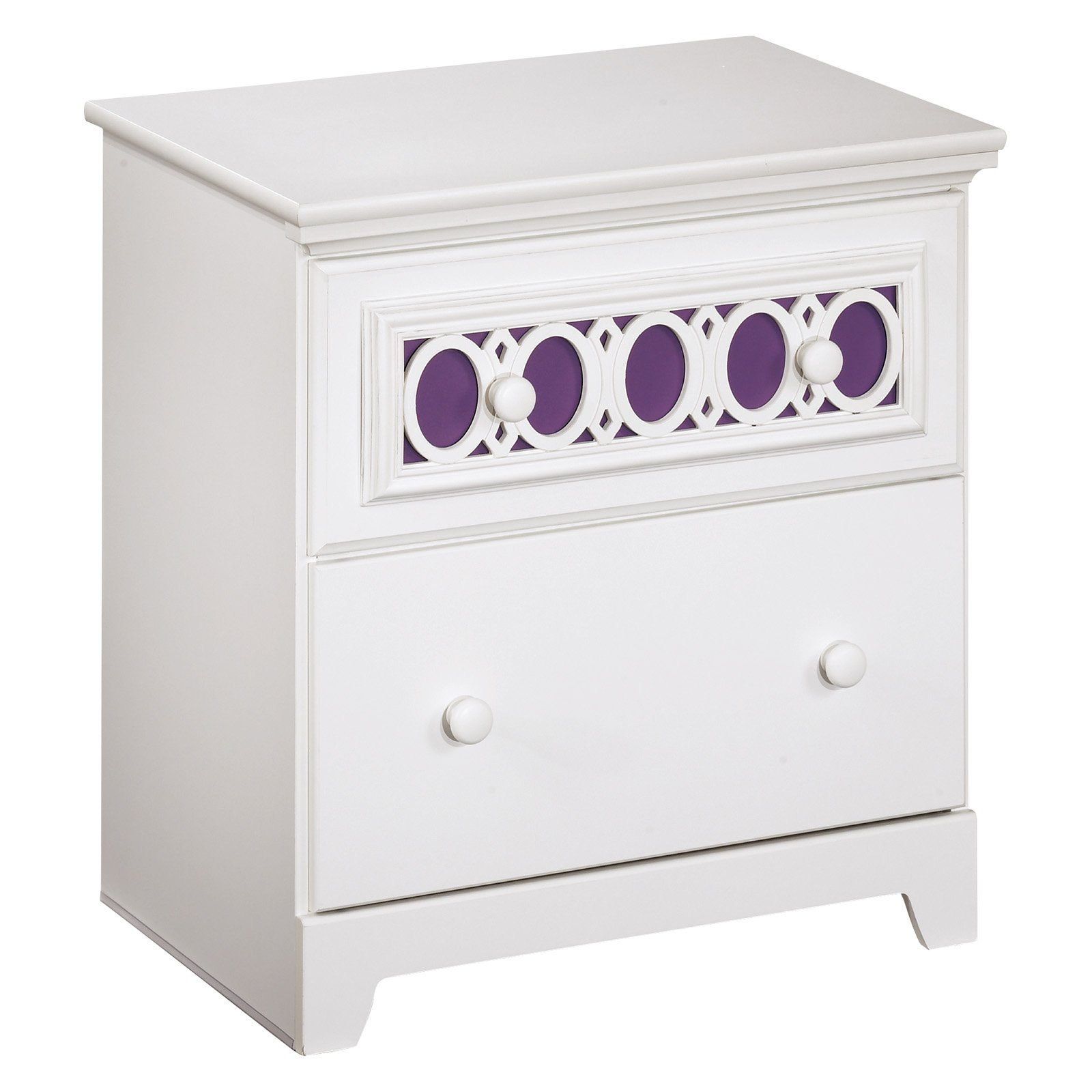 Signature Design by Ashley Zayley 2 Drawer Nightstand