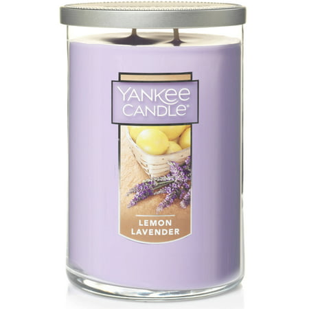 Lavender Garden Candle - Yankee Candle Lemon Lavender - Large 2-Wick Tumbler Candle