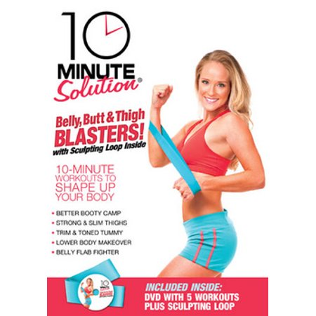 10 Minute Solution: Belly, Butt & Thigh Blasters (DVD)