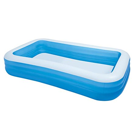 Best Family Inflatable Pool With Extra Wide Side Walls & Drain Plug for Ages 6+
