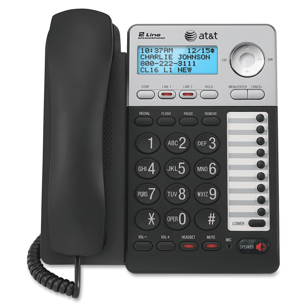 AT ML17929 Standard Phone - Silver