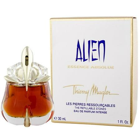 (Alien Essence Absolue Perfume for Women by Thierry Mugler - 1.0 oz Eau De Parfum Intense Refillable Spray (New In Box))