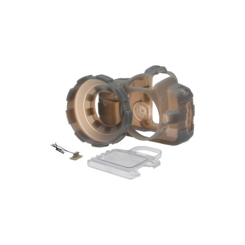 MADE Rubberized Camera Armor Case for Canon Rebel XTi (Smoke)