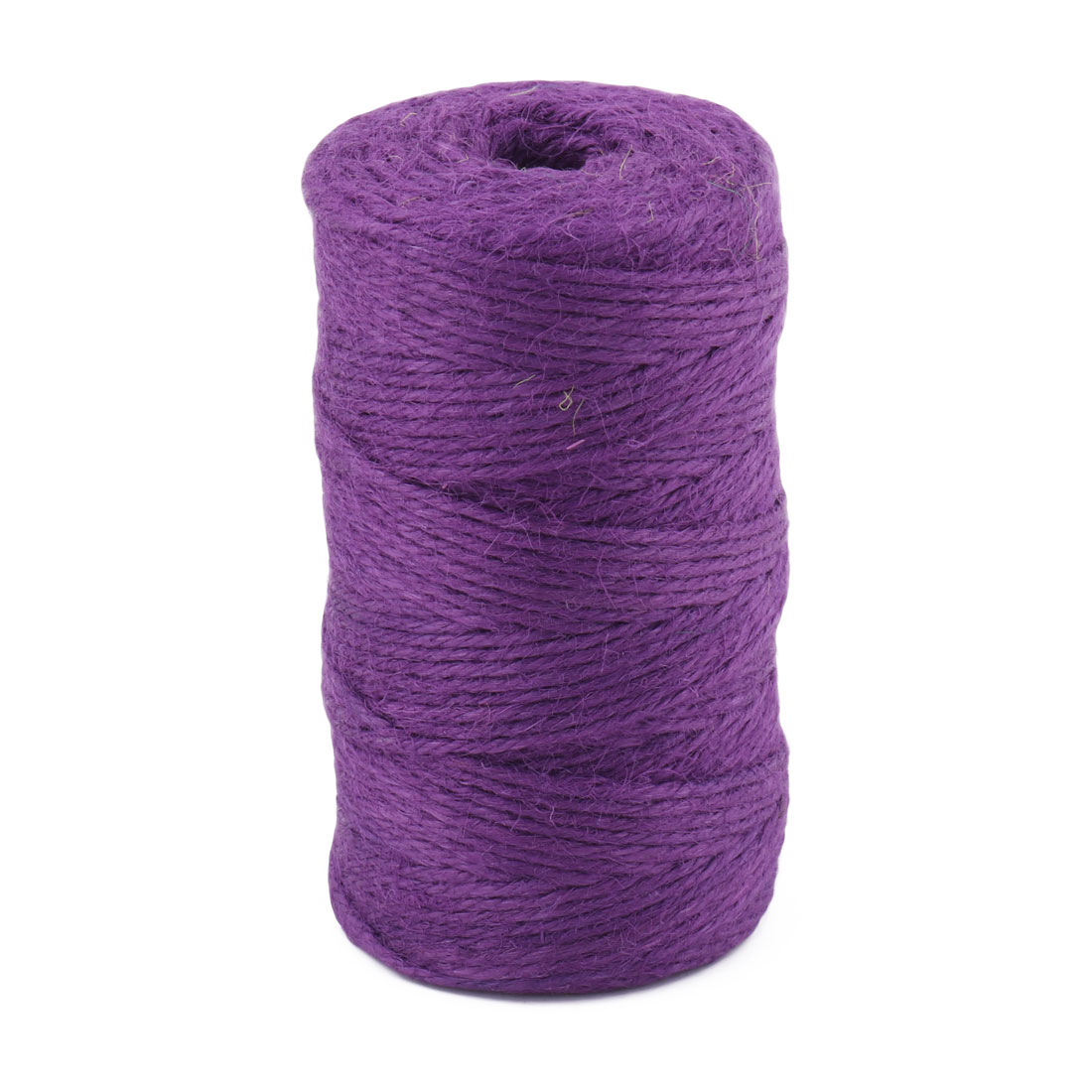 Holiday Wedding Decoration Burlap Craft Ribbon Rope String Purple 100M Length