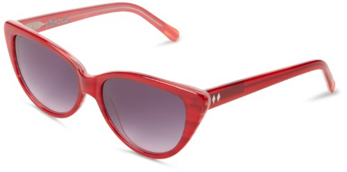 Tres Noir womens Ultra Lux Cat-Eye Sunglasses