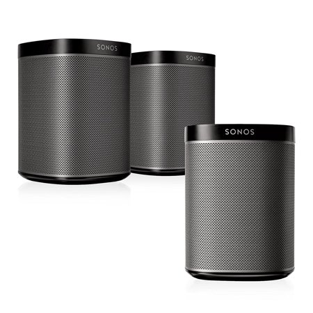 Sonos Multi-Room Digital Music Set with Three PLAY:1 Speakers
