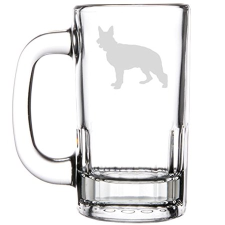 12oz Beer Mug Stein Glass German (German Glass Beer Mug)