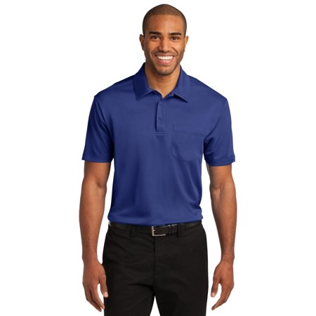 Port Authority® Silk Touch™ Performance Pocket Polo. K540p Royal Xs - image 1 of 1