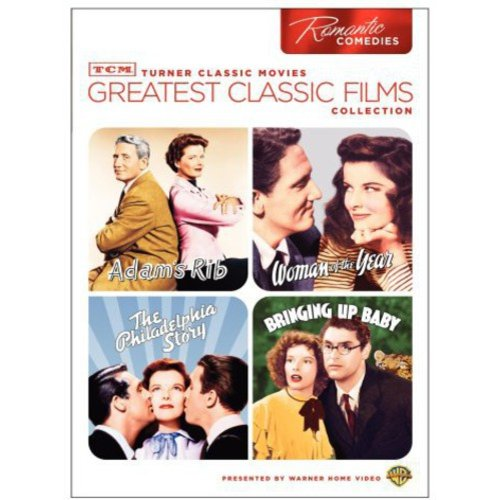 TCM Greatest Classic Films: Romantic Comedy - The Philadelphia Story / Bringing Up Baby / Adam's Rib / Woman Of The Year