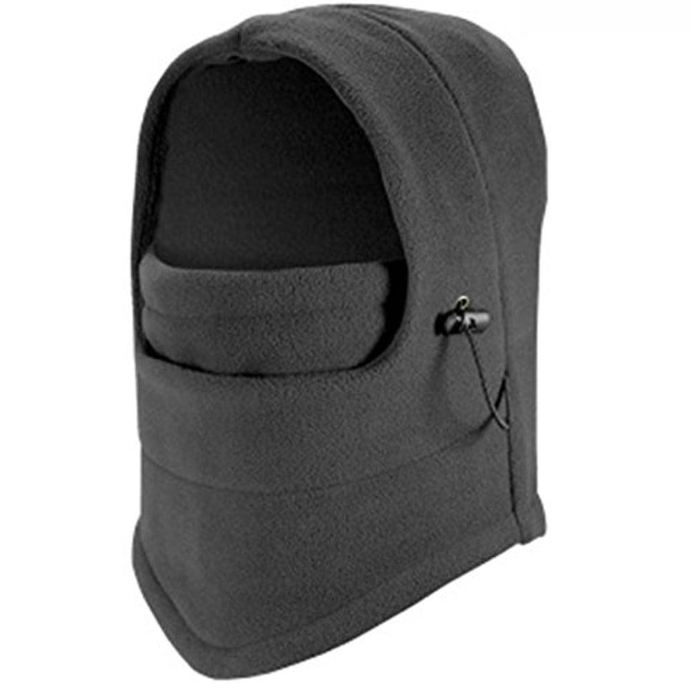 Highly Adjustable Face Protection Fleece Coverup Balaclava by Unike USA Inc