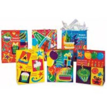 DDI 678640 Birthday Gift Bags