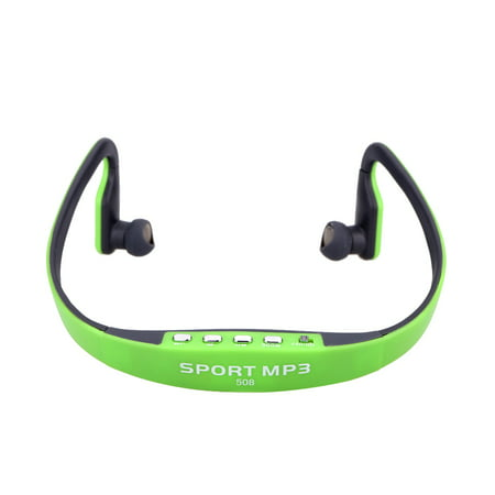 Portable Sport Wireless TF FM Radio Headset Headphone Earphone Music MP3 Player with Mini USB