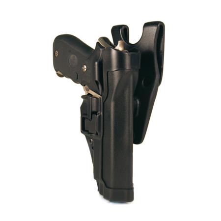 BlackHawk Level 2 Duty SERPA Belt Holster fits Sig 220/225/226/228/229 with or without Rail, Right Hand,