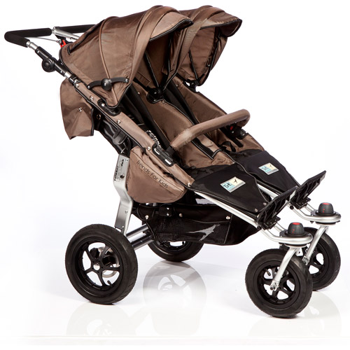 Trends for Kids Twinner Twist Duo Jogging Stroller, Mud
