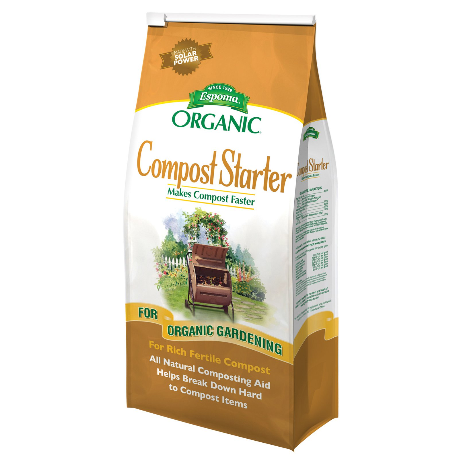 Espoma CS4 4 Lb Organic Compost Starter by Generic